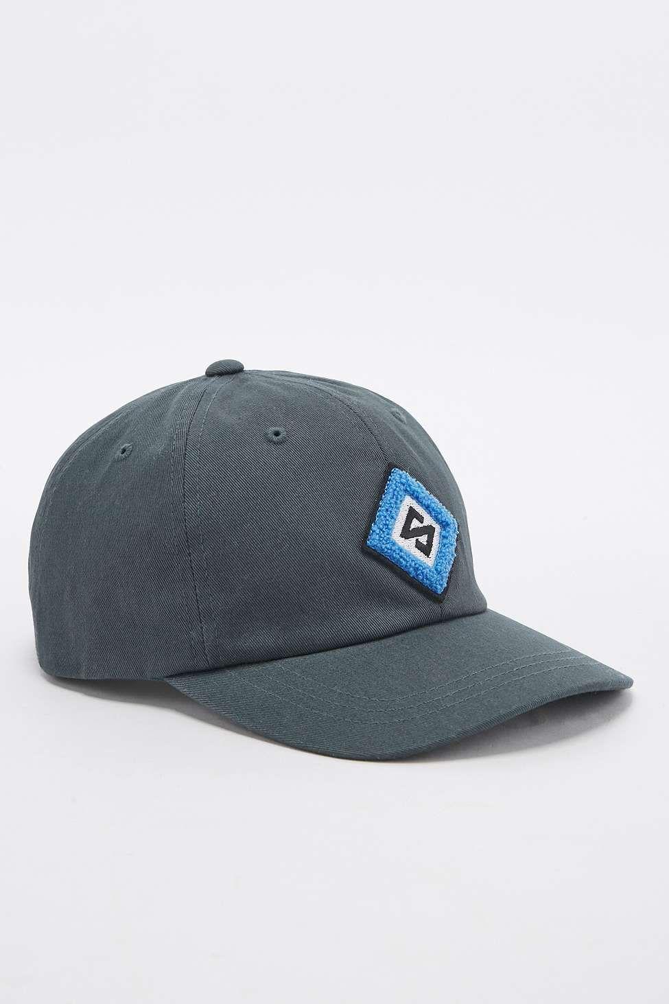 6cc822689a6 Stussy Chenille Diamond Logo Green Cap