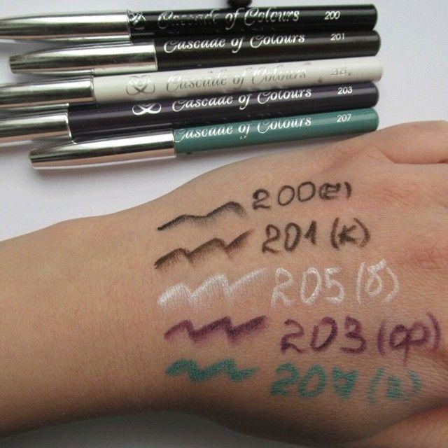 #карандаши #касакадофколорс такие карандаши исп многие визажисти, они супер и цена бюджетная))