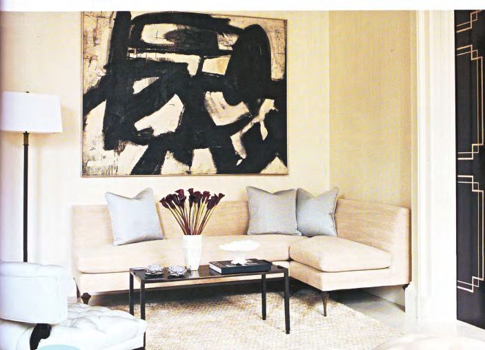 P beautiful rooms franz kline art