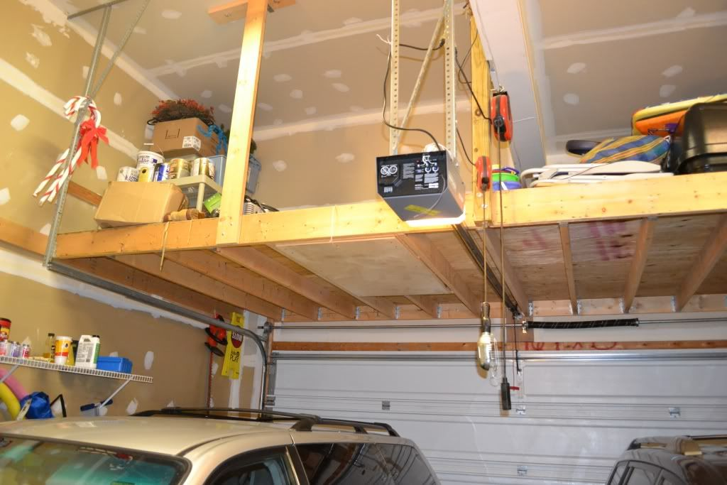 Attic Storage Loft Without Ground Support read the