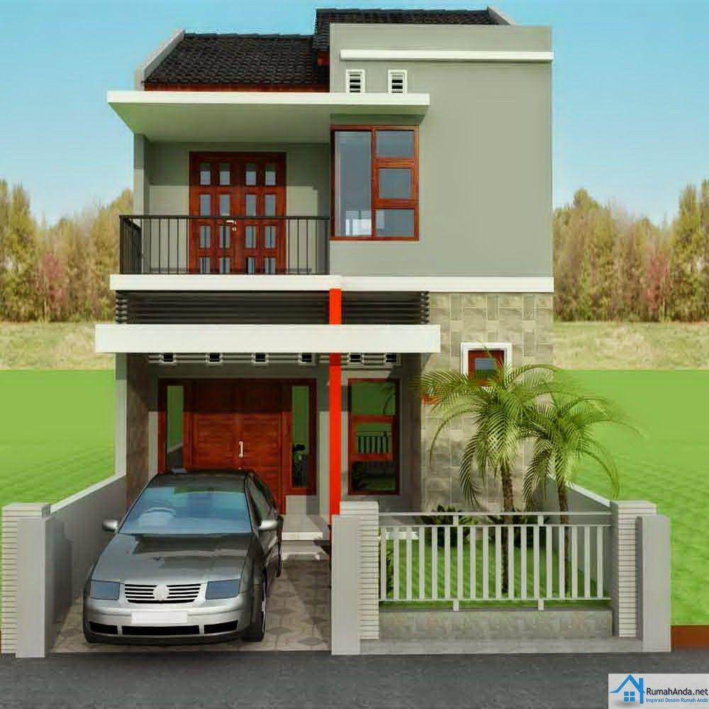 Desain Rumah Type 60 Atap Perisai Cek Bahan Bangunan
