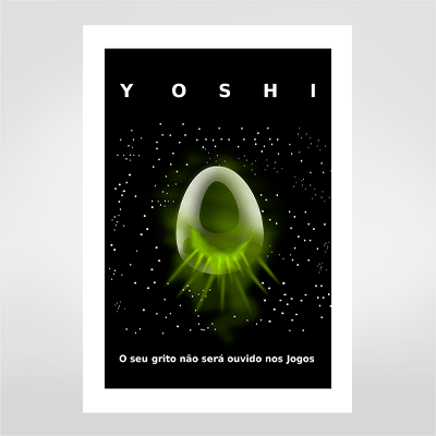 Fine art Yoshi por Hugo Tamura R$48,00