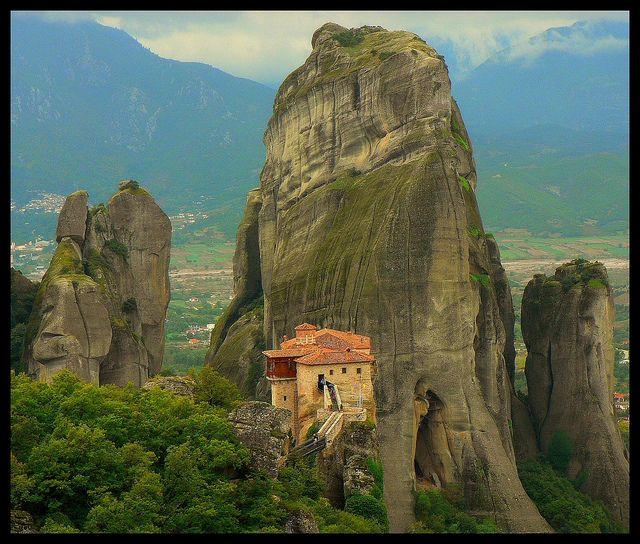 Griechenland - Meteora-Kloster
