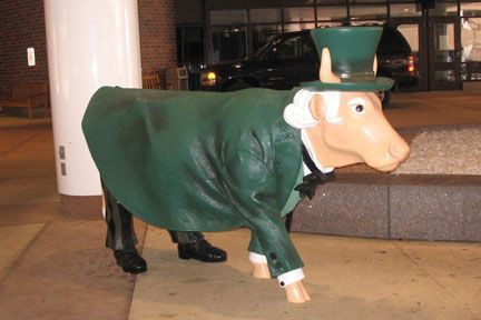 The Emerald City Cow