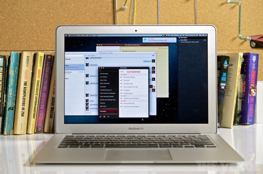 Apple OS X 10.8 Mountain Lion preview Notification Center