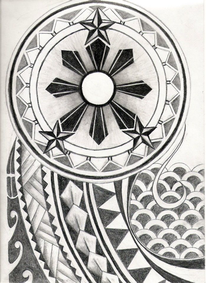 filipino_tribal_tattoo_design_by_carrieannnn-d4ptpzz.jpg (698×960)