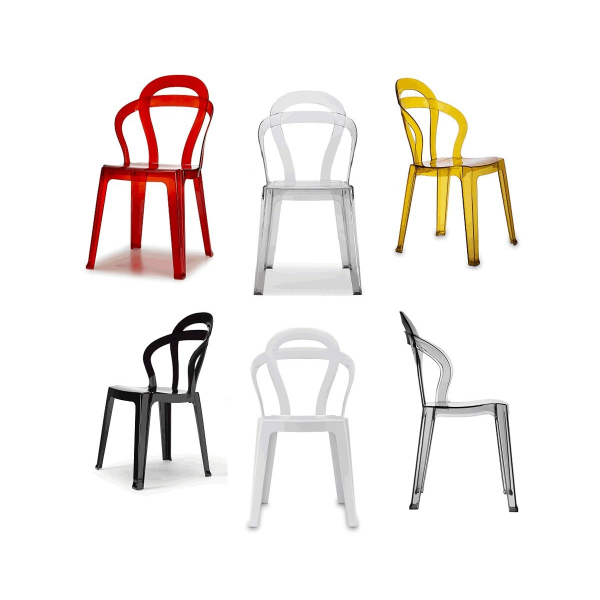 Sedie per bar impilabili modello Titi\'. Sedie eleganti, robuste ...