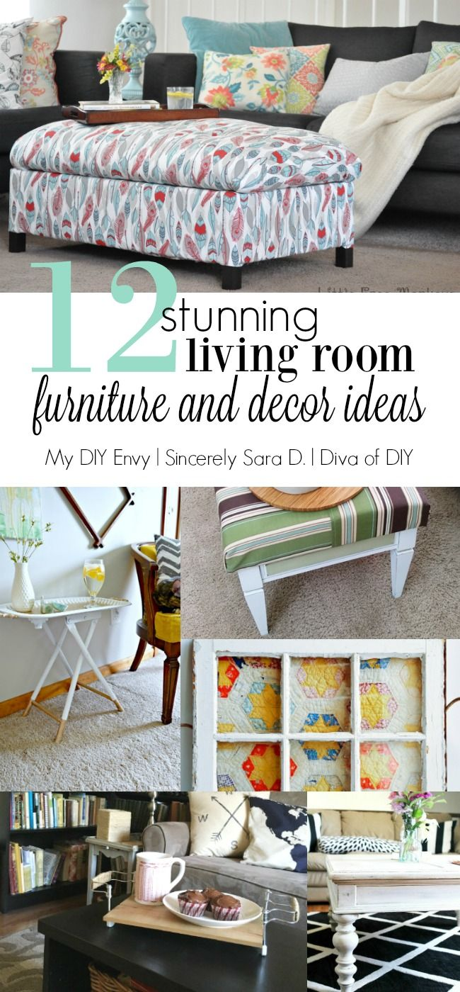 12 Stunning Living Room Furniture and Decor Ideas | Living room ...
