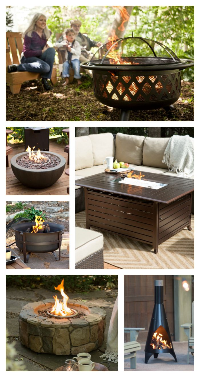Every outdoor space needs some sort of fire. hayneedle.com ... on Living Room Fire Pit id=19265