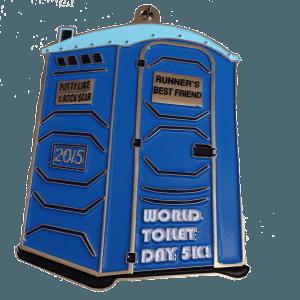 Virtual Run: World Toilet Day 5k Toilet Medal | Virtual Races ...