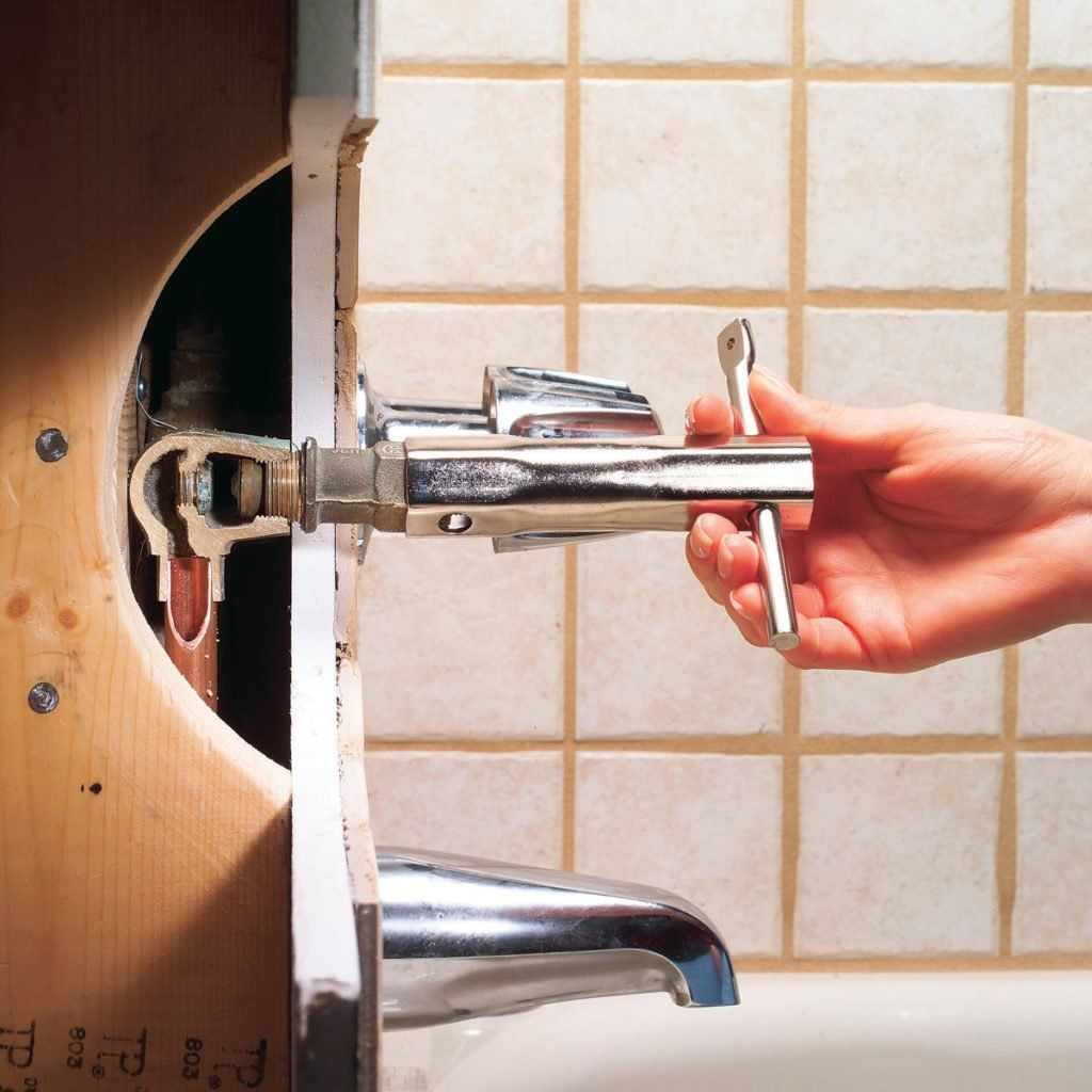 How to fix a leaking bathtub faucet faucet repair faucet