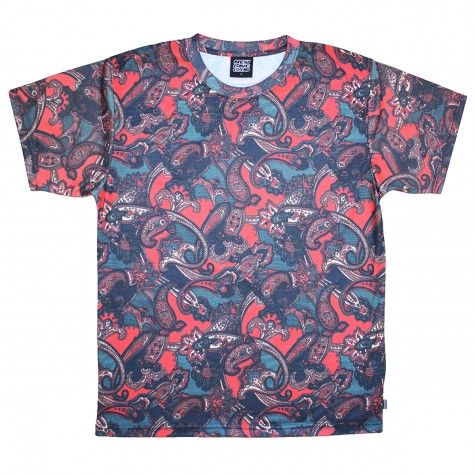 Red Paisley HD