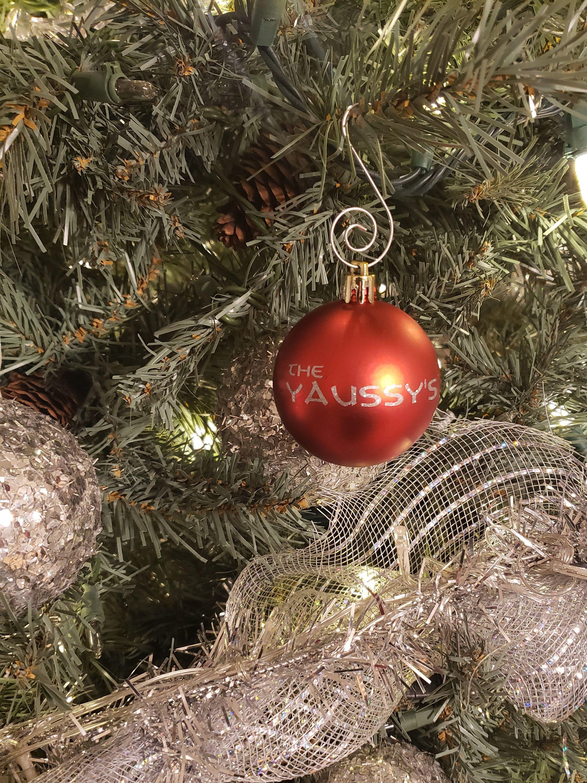 Custom Christmas Ornaments (With images) Custom