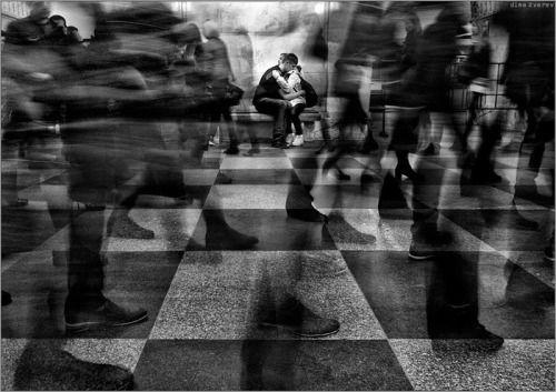 Metro station Prospekt Mira  by Dmitry Zverev