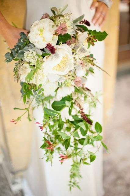 Wedding Flower Trends The Trailing Bouquet Bristol Florist