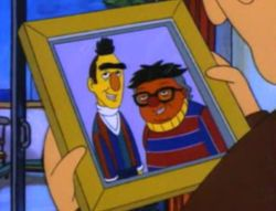 "From ""The Critic,"" Siskel and Ebert as Ernie and Bert. LOL x sideways-8"