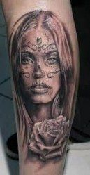Tattoo sleeve women skulls day of the dead 40 Ideas  - °○tattoO○° - #Day #Dead #Ideas #skulls #sleeve #Tattoo #women