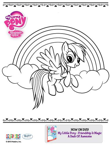 My Little Pony Printable Coloring Sheet | my little pony | Pinterest ...