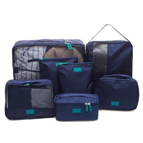 7 Set Packing Cubes Travel Luggage Organizer Bag Packing cubes