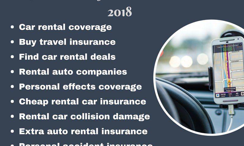 Top 10 Reasons To Buy Rental Car Insurance In 2018 Car Rental