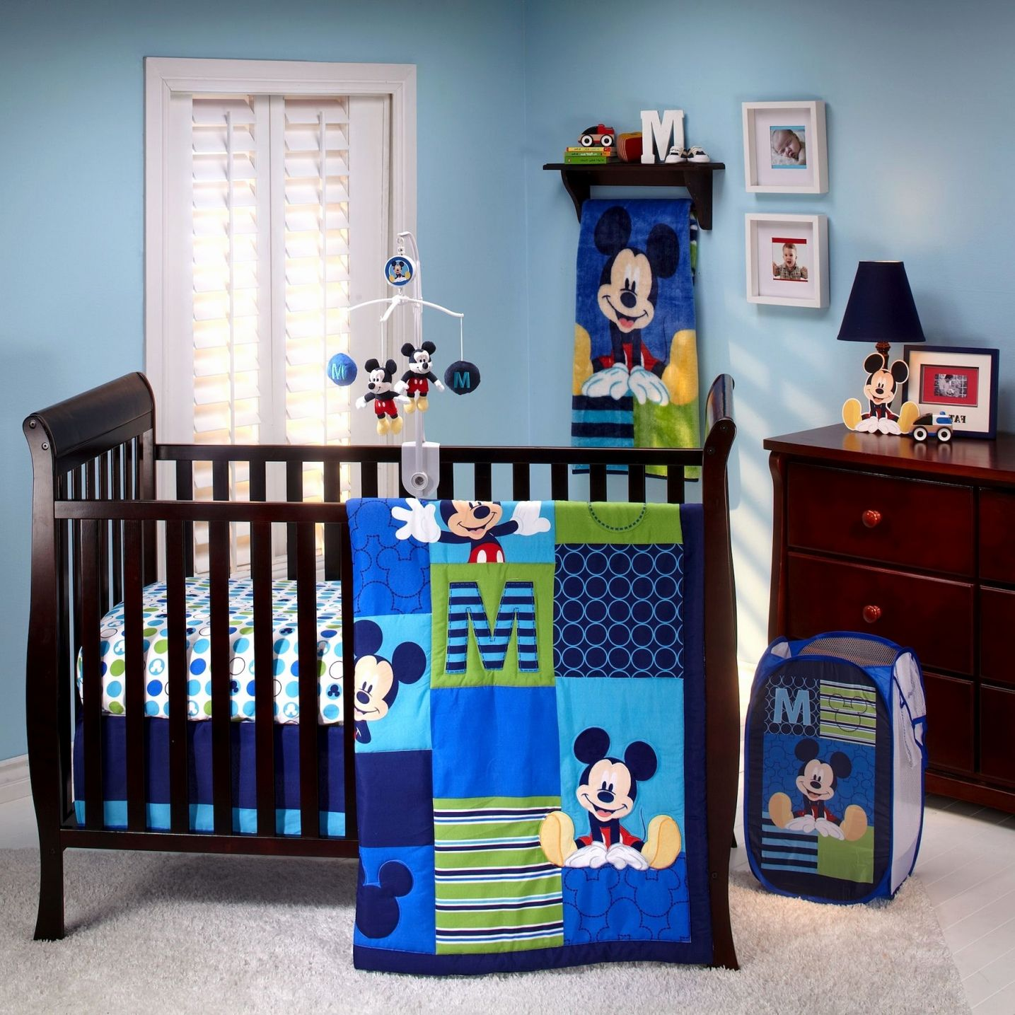 2019 Mickey Mouse Baby Room Decor