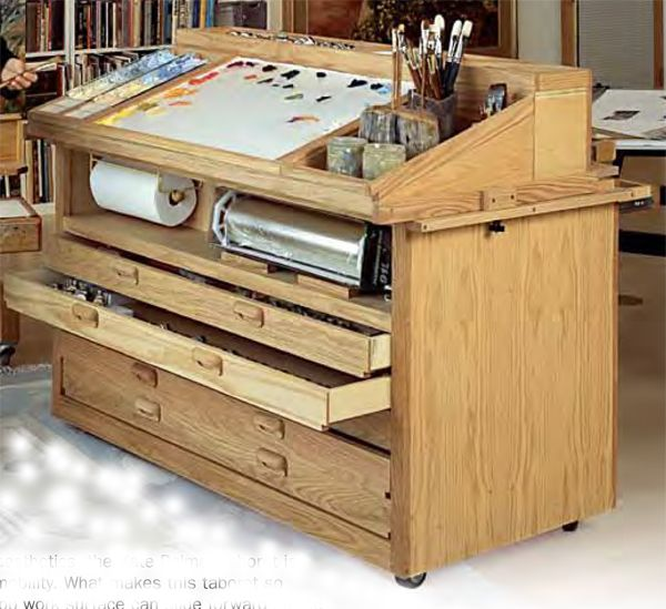 Best 'Kate Palmer' Taboret by Richeson Easels Studio. For when I decide to be productive with my life.