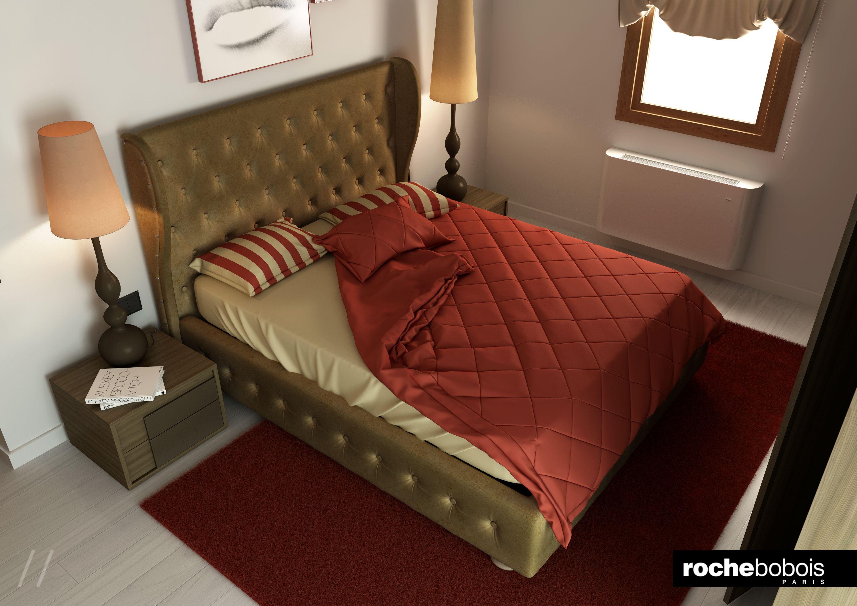 Bedroom #Camera #Letto #Maestro #Capitonnè #Chester #Chesterfield ...