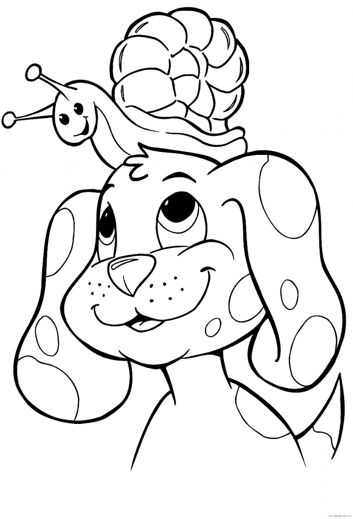 Simple Animal Coloring Pages Awesome Coloring Page Free Puppy Coloring Pages Pageor Kids Col In 2020 Puppy Coloring Pages Animal Coloring Pages Unicorn Coloring Pages