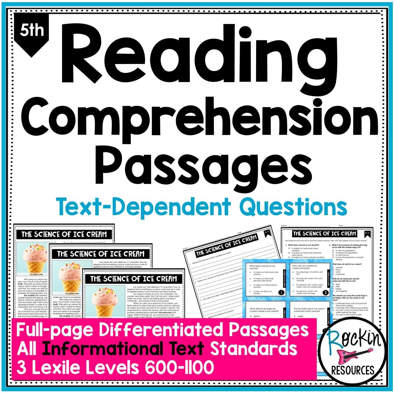 5th Grade Informational Reading Comprehension Passages