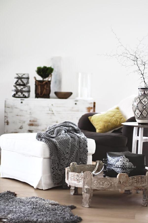 marokkaanse woonkamer decoratie 4 | marokkaanse ideeen | Pinterest ...