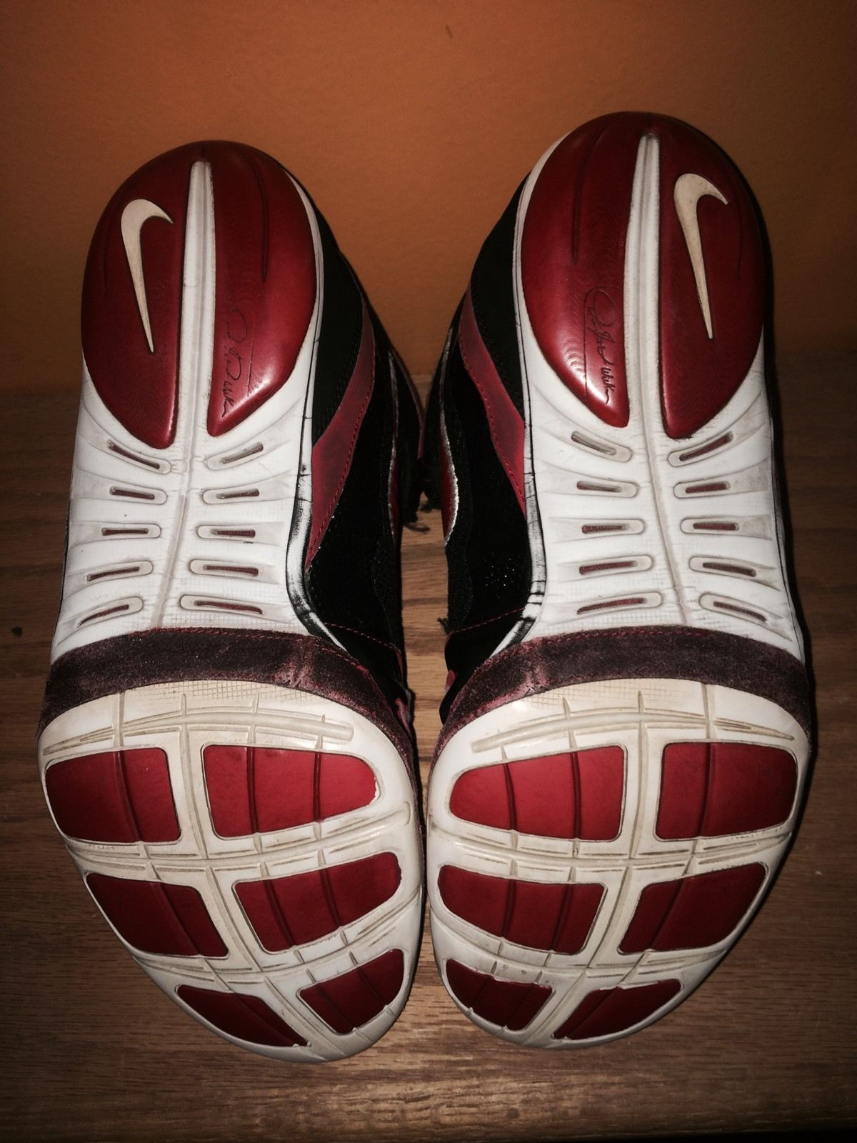 RARE Nike Freek Wrestling Shoe Size 11 5 | eBay -- Guess whose the signature