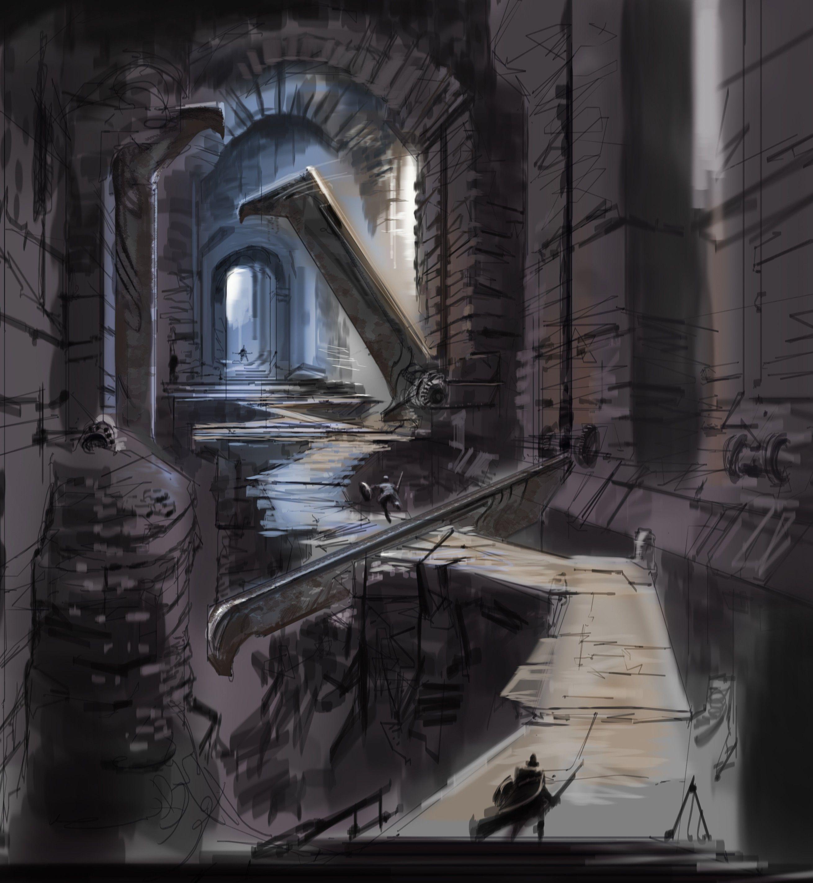 Cleaver Hallway Video Games Artwork Ловушки