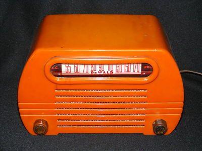 Antique Vintage Fada 652 Temple Catlin 6 Tube Radio Parts Chasis Case Nr Antique Radio Vintage Radio Old Radios