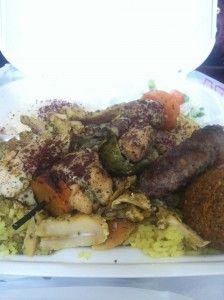 Chicken Shawarma And Kabobs At Taza Cafe Chicago S Halal Festival Halal Recipes Halal Food Festival Food Festival