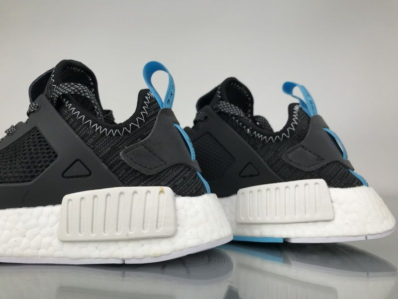 "99c5122a59f75 Adidas NMD XR1 Primeknit ""Black Blue"" S32215 Men Real Boost for Sale6"