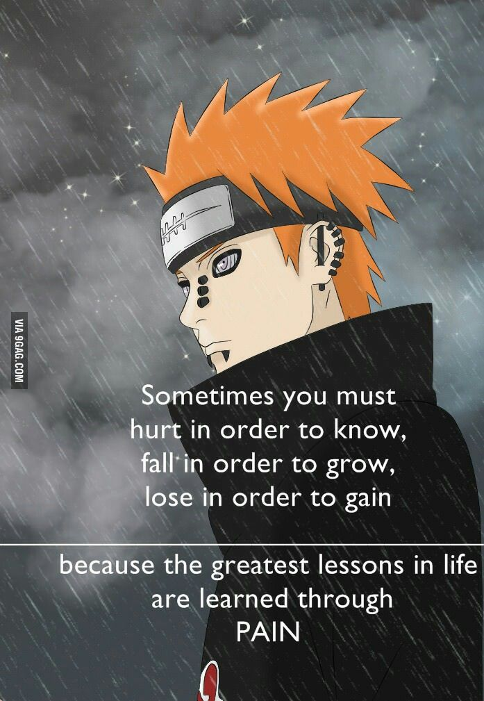 Naruto pain quotes and sayings