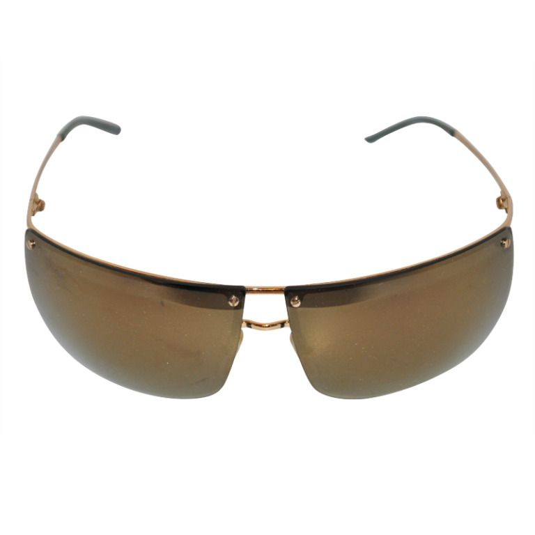 33b9d0ba1df Gucci Mirrored with Gold Hardware Sunglasses