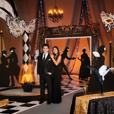 Vintage Masquerade Complete Prom Theme | Prom Themes ...