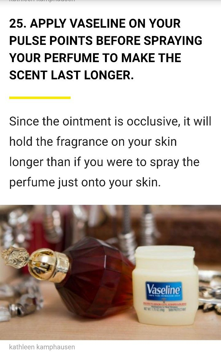 Pin by Fabiola Trapaga on Tips/Hacks Perfume spray