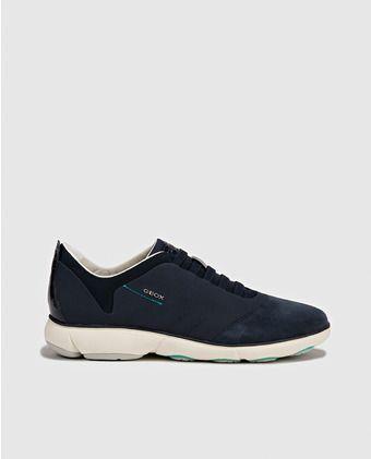 1350c36e246 Zaptillas deportivas de mujer de Geox azules