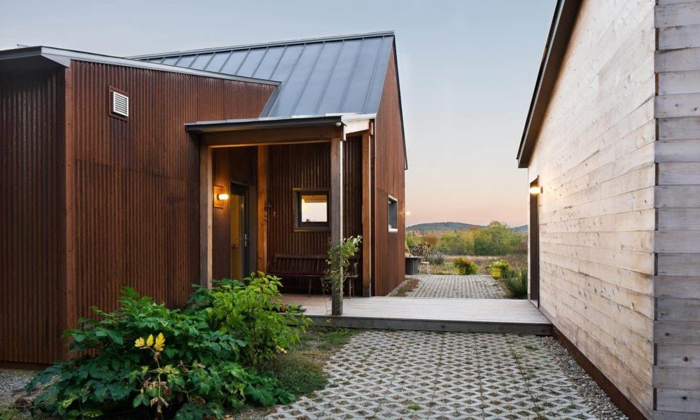 1000 SF (Plans A&B) Prefab homes, Prefab, Modern prefab