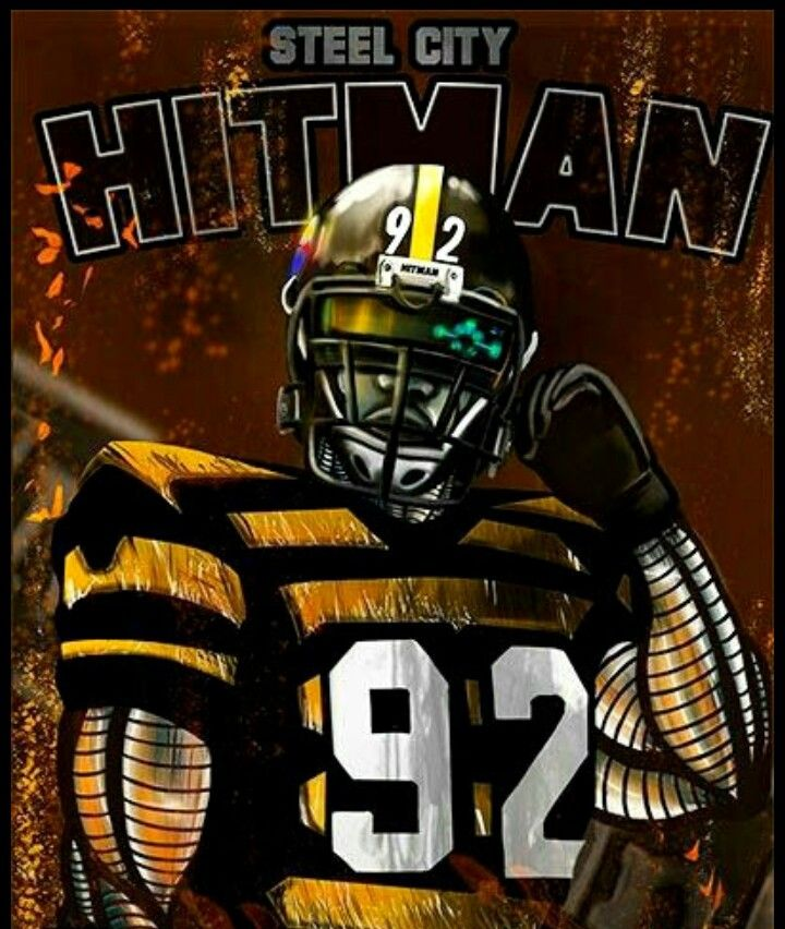 Pin by Percy Bullock on Steelers James harrison