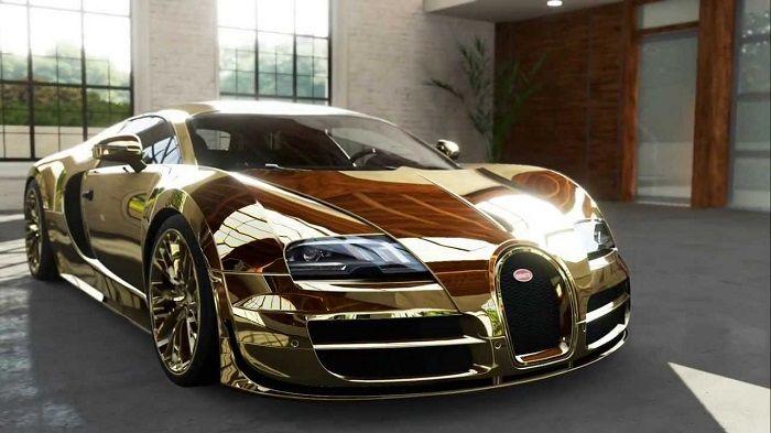 Best Gold Cars Ever Expensive Cars Bugatti Bugatti Veyron