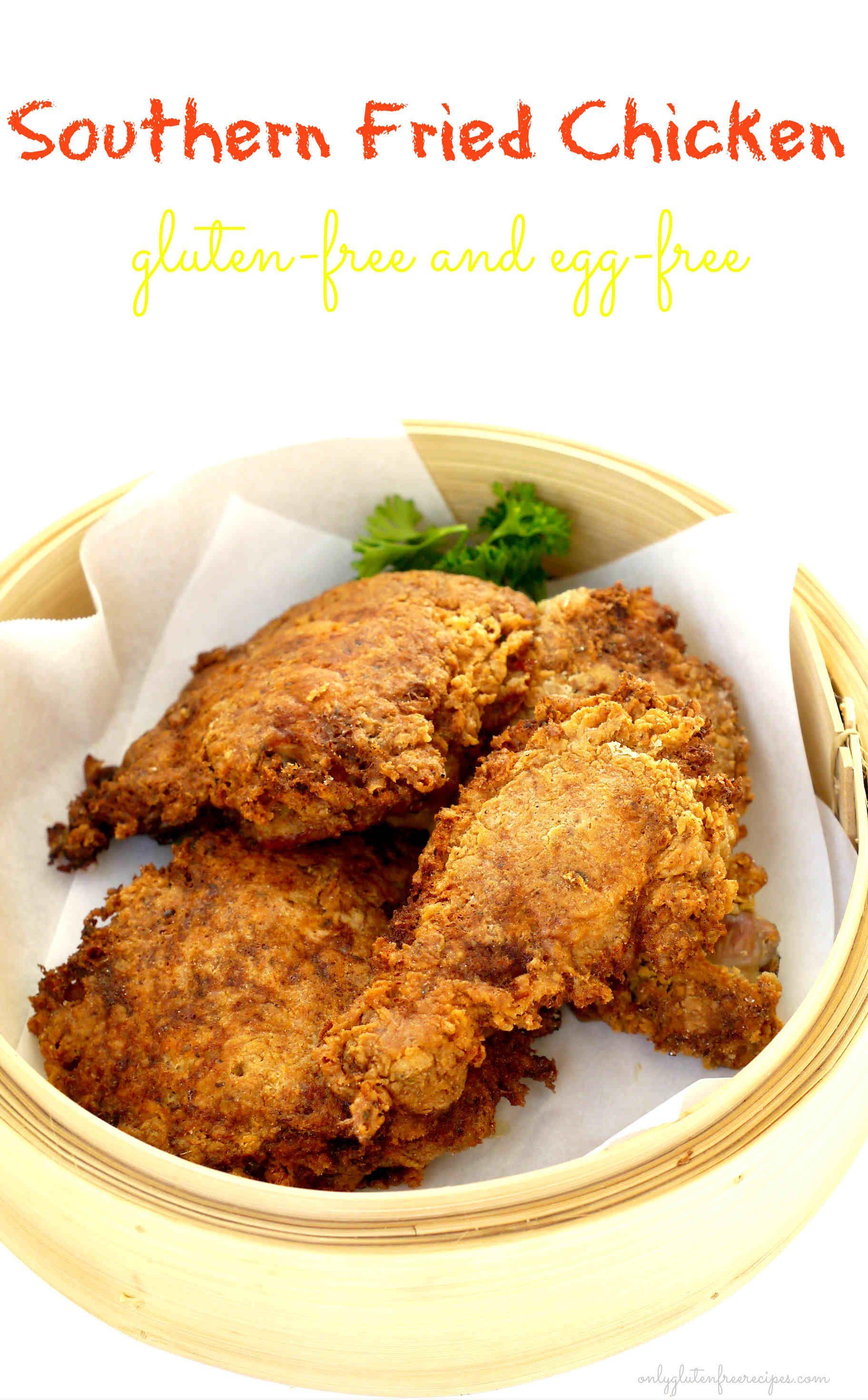 Gluten-Free Southern Fried Chicken Gluten-Free Southern Fried Chicken Gluten Free Recipes gluten free fried chicken