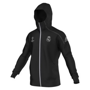 Chaqueta UCL Real Madrid 2016/2017 Negro