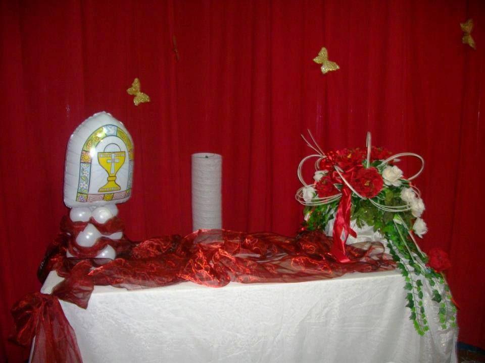 Tavolo Comunione ~ Allestimento tavolo della torta prima comunione