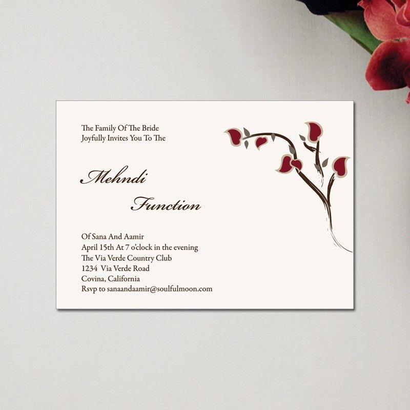 wording for mehndi invitation - Google Search Wedding Venues - fresh invitation wording for trunk party