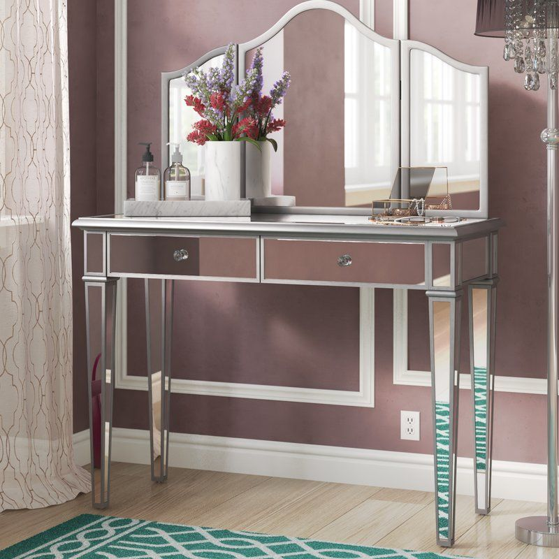 Leonardo Vanity with Mirror | Cheap living room sets ...