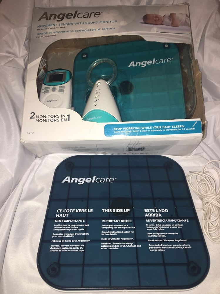 Angel Care 2 Movement And Sound Monitors 1 Parent Unit Model Ac401