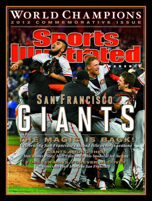 Giants hit the SI cover Sf giants, San francisco giants